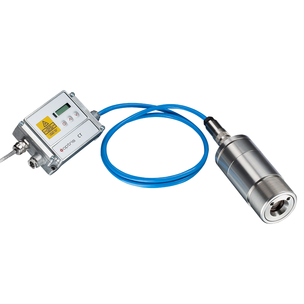 Video-Pyrometer optris CTvideo 1M / 2M mit Elektronikbox
