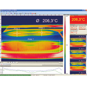 Thermografie-Software optris PIX Connect (Solarzelle)